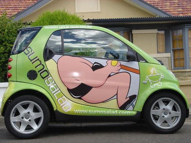 thiết kế quảng cáo ô tô