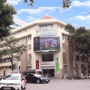 Màn hình Led tại Nút giao Hai Bà Trưng - Phan Chu Trinh, Hà Nội